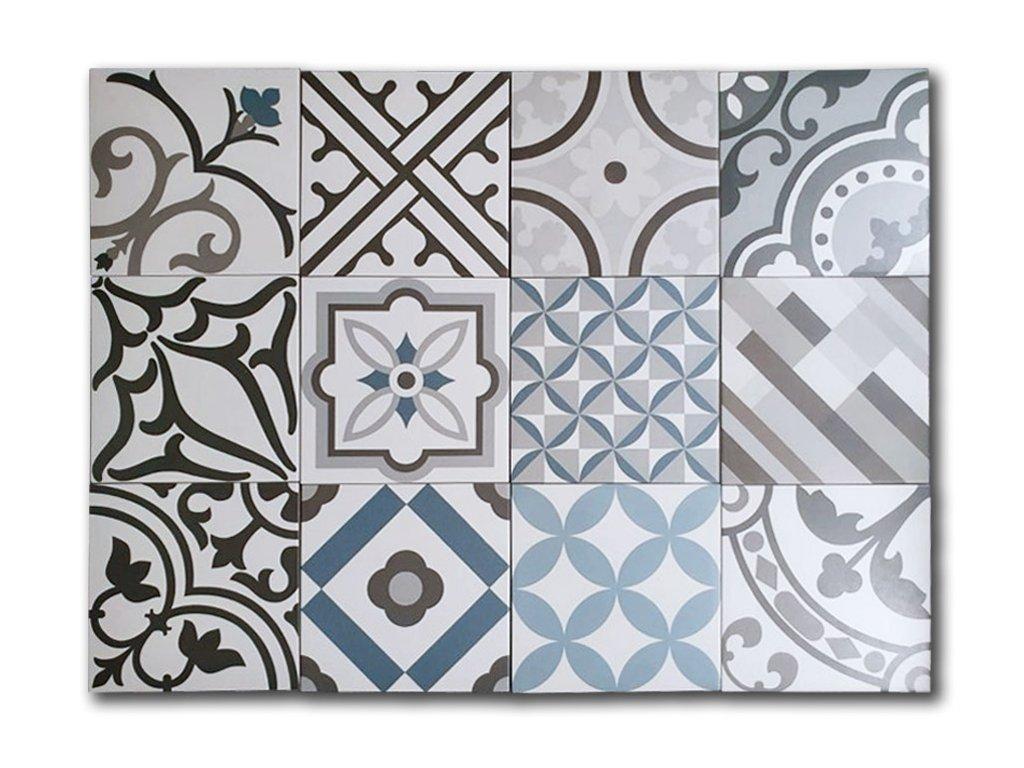 neocim plus obklady do koupelny dlazba patchwork 20x20 gris 05