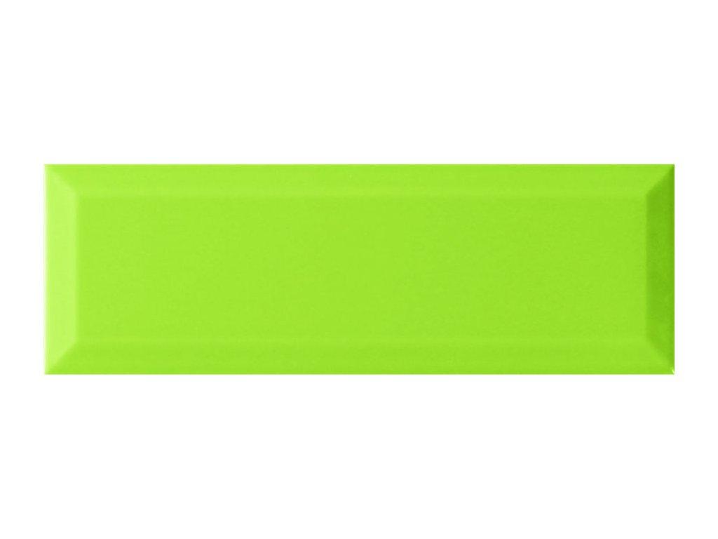 monopole monocolor verde bisel brillo 30x10