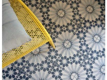 dlazba orientalni cementova dekor 20x20 menton 05