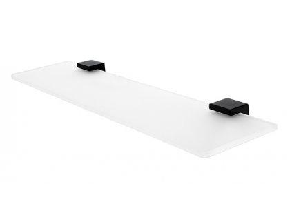 kibo cerne sklenena police 60 cm