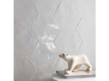 Exabright obklady hexagonální