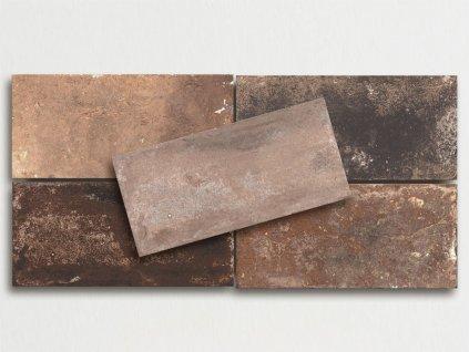 bristol venkovni dlazba cihelna imitace pasky 17x34