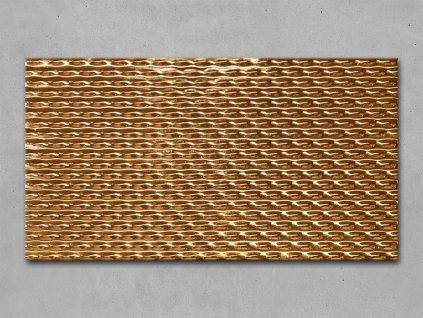 Dlažba či obklad Fap Frame Lamina Oro Inserto 30,5x56