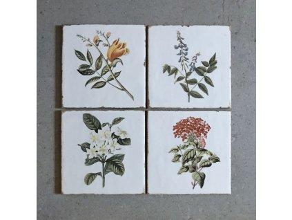 fabresa forli obklady dekory patchwork retro do kuchyne koupelny kvetiny 01