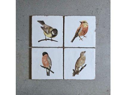 fabresa forli obklady dekory patchwork retro do kuchyne koupelny ptacci 02