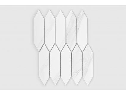 Raw decor mozaika hexagonum mramor matná 1