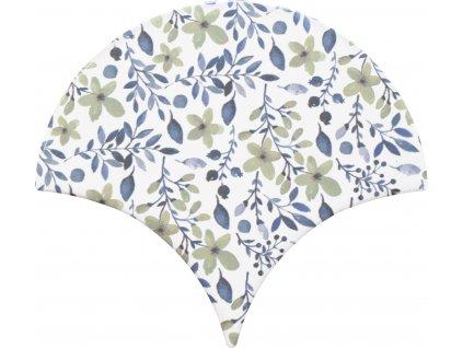 cevica jazz obklady lesk rybi supina dekory vzory jednobarevne dekor 10
