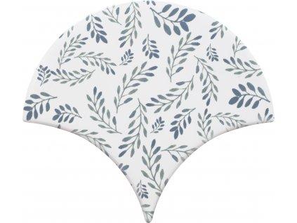 cevica jazz obklady lesk rybi supina dekory vzory jednobarevne dekor 9
