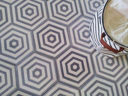 hexa soleil cementova orientalni dlazba hexagonalni dekor 10