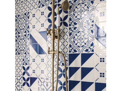 maiolica obklady modrobile 10x10 retro majolika 28
