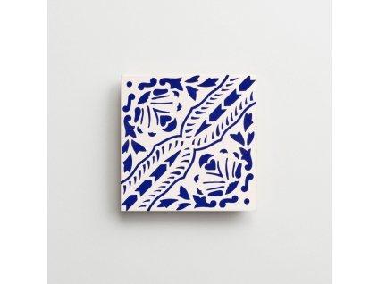 obklady rucne malovane modry dekor Alicudi iii