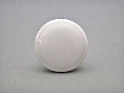 porcelanova uchytka knopka bila 35mm