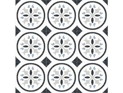 Retro Circle 3x3