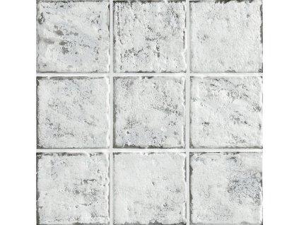 mistral bianco anticato dlazba obklady 10x10 rustikalni bile 01