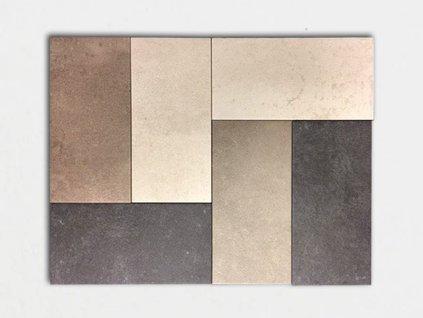 hm cottocemento obklady obdelnik beton 15x30