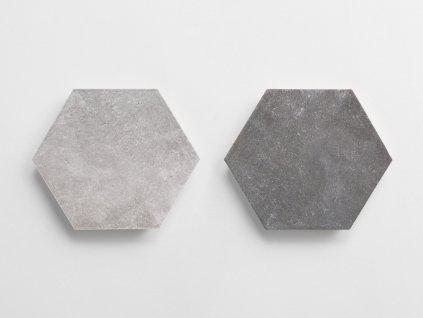 dakota dlazba obklady hexagony jednobarevna decor dakota barvy