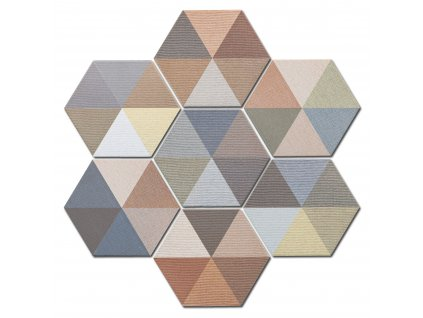 diamond hexagonalni dlazba obklady dekory trojuhelniky 11