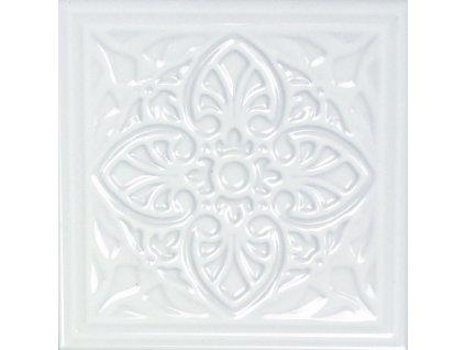 obklad do kuchyne leskly dekorovany bily armonia c blanco