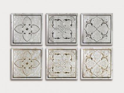 armonia obklady relief koupelny kuchyne zlate stribrne petra 02