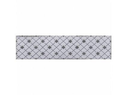 Obklad do interiéru dekorovaný 7,5x30 Atlas Grey 1