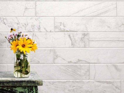 himalaya pumori obklady obdelnik imitace kamene mramor cerny bily 09
