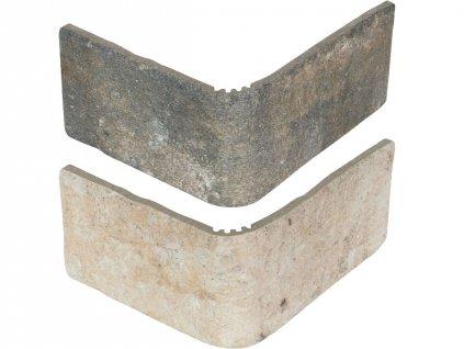 jerica obklady cihelne pasky rustikalni obdelnik mix roh