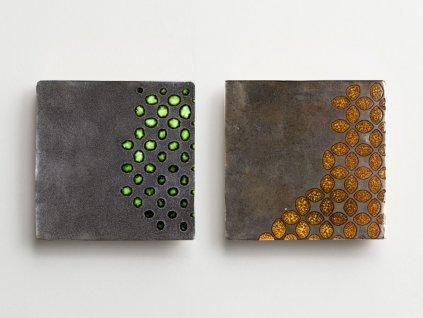 antic metal obklady metalicke handmade retro umelecke 01