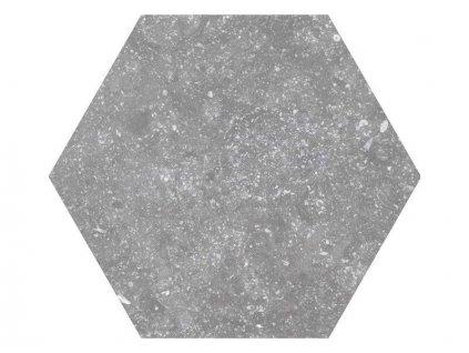 Equipe Coralstone Grey hexagon 25,4x29,2 eshop@vinciprojekt.cz