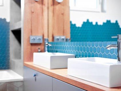 mozaika hexagon velky modra namornicka mat 01