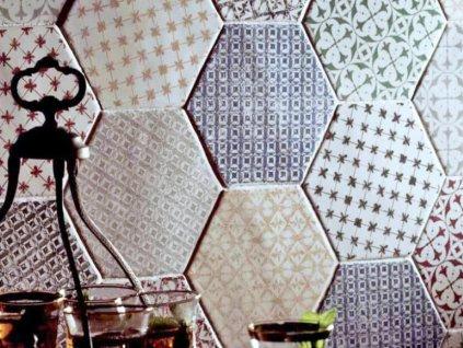 marrakech obklady dlazba dekory orientalni hexagon 04