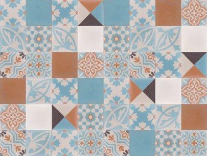 cementova orientalni dlazba patchwork 601