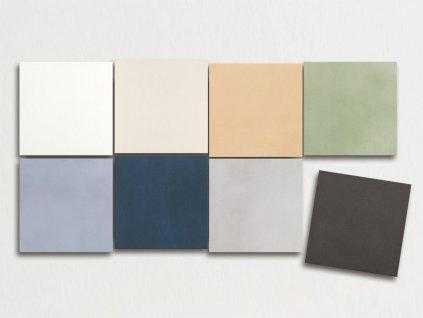 aquarel dlazba obklady jednobarevne 20x20 01