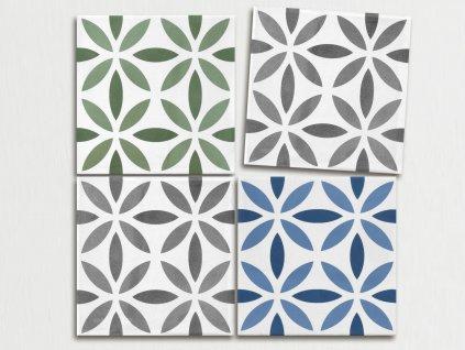 aquarel dlazba obklady dekory 15x15 antares