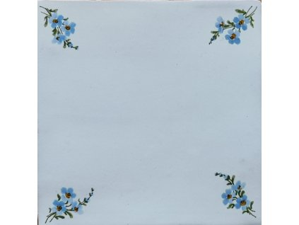 obklad rucne malovany s dekorem pomnenek