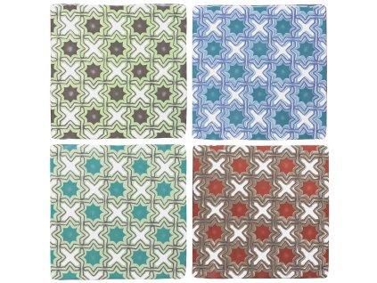 provenza craquele obklady 13x13 dekory vzory retro 01