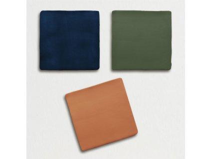 trending colors jednobarevne obklady obdelnik retro mat 13x13