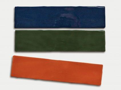 trending colors jednobarevne obklady obdelnik retro lesk 03