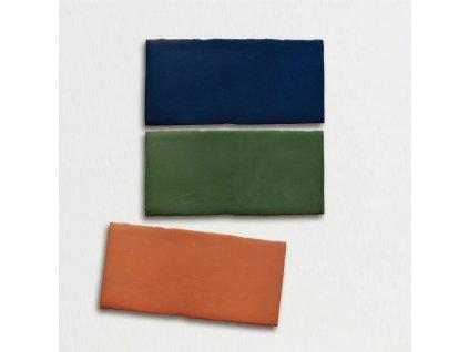trending colors jednobarevne obklady obdelnik retro mat 7 5x15