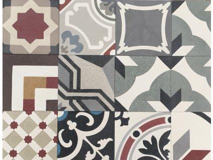 patchwork terazzo cementova dlazba