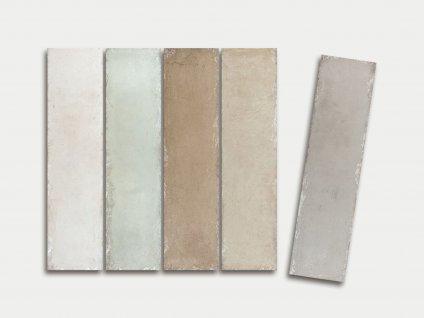 tin tiles obklady obdelnik rustikalni vintage pastelove jednobarevne 03