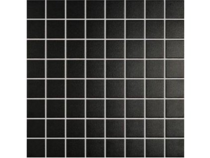 mozaika do interiéru a exteriéru matná 38x38 black and white 99
