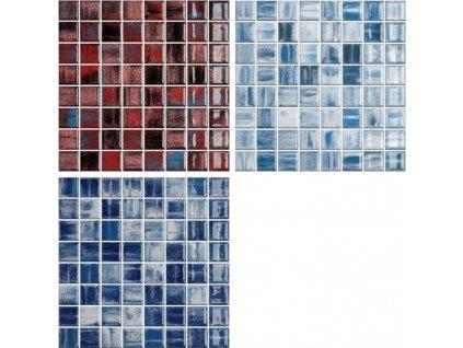 Fantasy mozaika do interiéru i exteriéru keramická lesklá 38x38