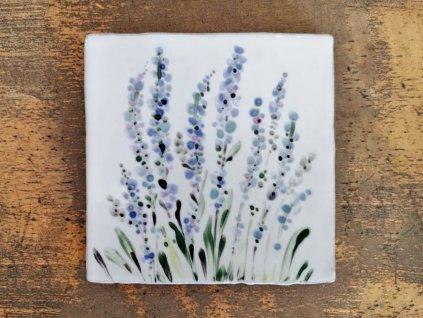 malovane obklady selske levandule bylinky 04