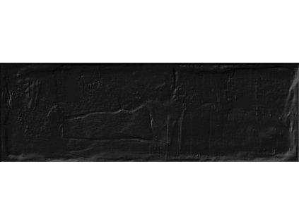 Obklad jednobarevny matny BRICK Black 11x33,15 2