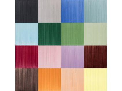 Pennellati jednobarevné ručně malované obklady 20x20 - 42 barev