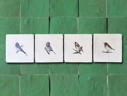 rucne malovane obklady selske malir jv ptacci 03