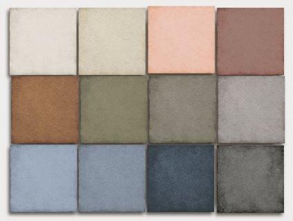 art noveau colores obklady dlazba historicke dekory 20x20 jednobarevna