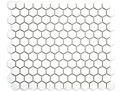 mozaika bila hexagonalni mala na siti matna 01