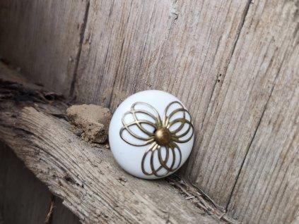 uchytka keramicka porcelanova nopka malovana selska 16