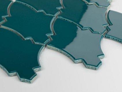 mozaika erb stit arabeska ocean granate lesk 07